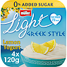 Muller Light Greek Style Luscious Lemon Yogurt 4 x 120g (480g)
