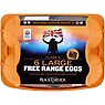 The Black Farmer 6 Large Free Range Eggs 378g