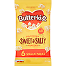 Butterkist Delicious Sweet & Salted Popcorn 6 x 12g