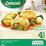 Dalepak Vegetable Crispbakes 4 Pack 440g