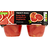 Trout Hall Ruby Red Grapefruit Segments in Fruit Juice 4 x 120g