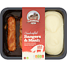 Cloughbane Farm Shop Handcrafted Bangers & Mash 450g