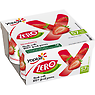 Yoplait Zero No Added Sugar Fat Free Strawberry Yogurt 4 x 125g (500g)