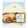 Tesco 8 White Tortilla Wraps