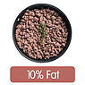 Beef Mince, 10% Fat (Lean), Fried without Oil