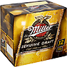 Miller Genuine Draft Cold-Filtered Beer 12 x 330ml