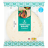 Sainsbury's 8 Plain Tortilla Wraps 496g