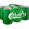 Carlsberg Lager Beer 6 x 330ml