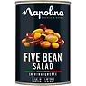 Napolina Five Bean Salad in Vinaigrette 400g