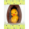 De Schutter Easter Egg with Baby Duck Decorated in Cello Box 180g