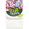 Fruit Bowl Yogurt Raisins 5 x 22g
