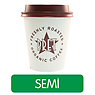 Pret Americano White Coffee (Semi-Skimmed Milk)