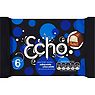 Echo Milk & White Chocolate 6 Biscuit Bars 130g