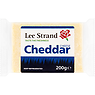 Lee Strand White Cheddar Cheese 200g