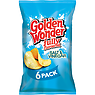 Golden Wonder Fully Flavoured Salt & Vinegar 6 x 25g