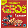 Traidcraft Geobar Fairtrade Mixed Berries Chewy Cereal Bars 5 x 35g