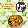 Higgidy Family Kitchen Cauliflower Cheese Quiche with Broccoli & Mature Cheddar 400g
