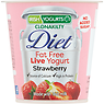 Irish Yogurts Diet Fat Free Bio-Live Yogurt Strawberry 125g