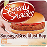 Speedy Snacks Sausage Breakfast Bap 132g
