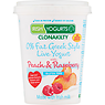 Irish Yogurts Clonakilty 0% Fat Greek Style Live Yogurt with Peach & Raspberry 450g