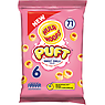 Hula Hoops Puft Sweet Chilli Flavour Wheat & Potato Rings 6 x 15g