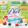 Irish Yogurts Diet Fat Free Bio-Live Yogurt 4 x 125g (500g) Apricot & Nectarine