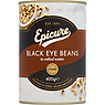 Epicure Black Eye Beans in Salted Water 400g