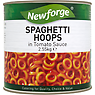 Newforge Spaghetti Hoops in Tomato Sauce 2.55kg