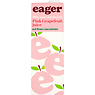 Eager 100% Squeezed Smooth Pink Grapefruit Juice 1 Litre