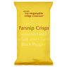 Glennans The Vegetable Crisp Company Hand Cooked Parsnip Crisps with Sea Salt and Black Pepper 100g