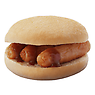 Greggs Sausage Breakfast Sandwich Roll
