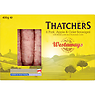 Westaways Thatchers 6 Pork, Apple & Cider Sausages 400g