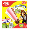 Mini Milk Vanilla, Strawberry & Chocolate Ice Cream Lolly 12 x 35ml Mini Milk Chocolate