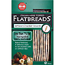 No-No Flatbreads Italian Herb Topped Wheat Cracker Snacks 125g