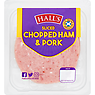 Hall's Sliced Chopped Ham & Pork 125g