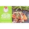 Fry's Meat Free 4 Golden Crumbed Schnitzels 320g