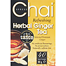 Chai Xpress Refreshing Herbal Ginger Tea 40 Premium Tea Bags 80g