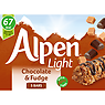 Alpen Light Bar Chocolate and Fudge Multipack 5 x 19g
