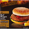 Flamehouse 16 Beef Burgers with Onion and Seasoning 907g