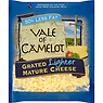 Vale of Camelot Grated Lighter Mature Cheese 200g