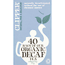 Clipper Organic Decaf Tea 40 Unbleached Bags 125g