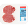 Sizzling Danish Unsmoked 2 Bacon Loin Steaks 250g