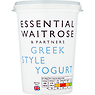 Essential Waitrose & Partners Greek Style Yogurt 500g