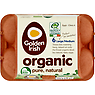 Golden Irish Organic Pure, Natural 6 Large/Medium Eggs