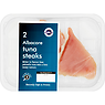New England Seafood 2 Albacore Tuna Steaks 220g