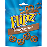 Flipz Milk Chocolate Covered Pretzels Bag 100g