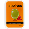 Areolives Green Olives with Red Pepper 95g