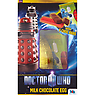 Doctor Who Milk Chocolate Egg with 8 Choc Bars 200g Milk Chocolate Egg