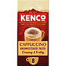 Kenco Cappuccino Unsweetened Instant Coffee Sachets x8