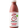 innocent smoothie strawberries & bananas 750ml